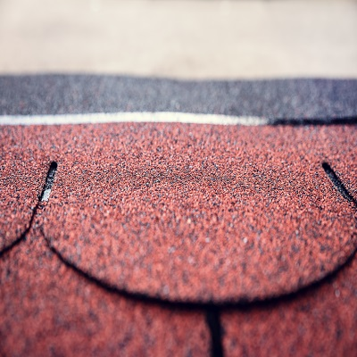 Asphalt Shingles on a Roof.