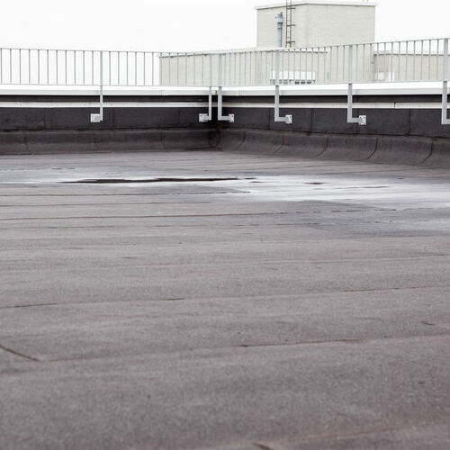 An EPDM Roof.