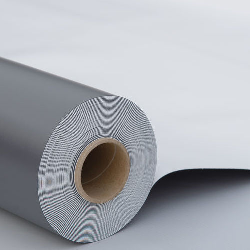A Roll of PVC Roof Membrane.