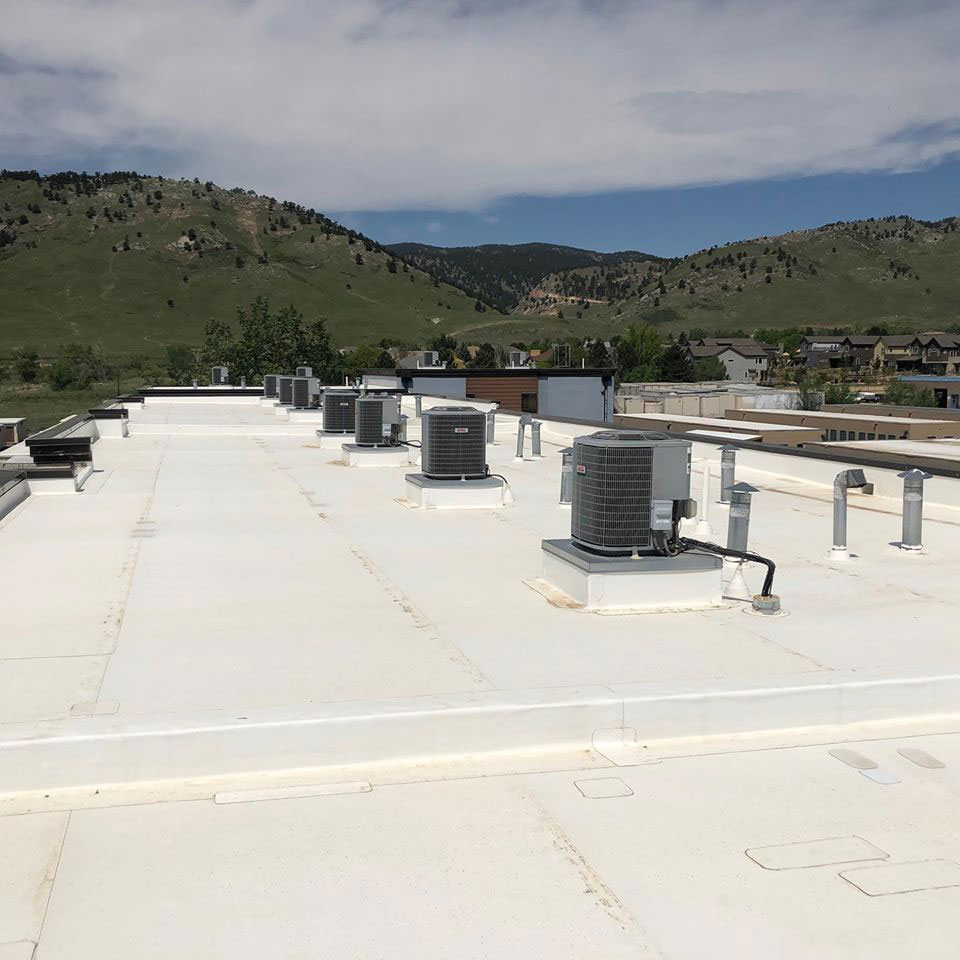 A Commercial Flat Roof.